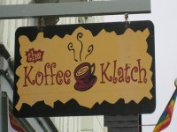 Koffee Klatch Coffee in Laguna Beach, California