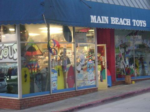 Main Beach Toys Laguna Beach Shops, Laguna Beach, California