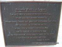 Brown's Park poem plaque, Laguna Beach Parks