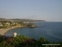 View from Crescent Bay Park, Laguna Beach park, Laguna Beach Information, California