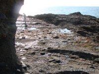 Entrance to the tidepools at Crescent Bay, Laguna Beach tidepools