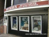 Don Beres Metalcarver Jewelry Store, Laguna Beach Shops