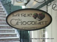 La Rue Du Chocolat Chocolate Sweets and Treats, Laguna Beach Shops, California