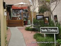 Studio 7 Art Gallery, Laguna Beach Art Galleries