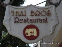 Thai Brothers Asian Cuisine Dining, Laguna Beach Restaurants