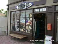 Thalia Surf Shop, Laguna Beach Shops, California