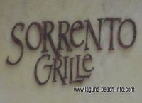Sorrento Grille Restaurant, Laguna Beach Restaurants