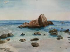 Adriana Skinny Martinez Art, Laguna Beach, Orange County, California