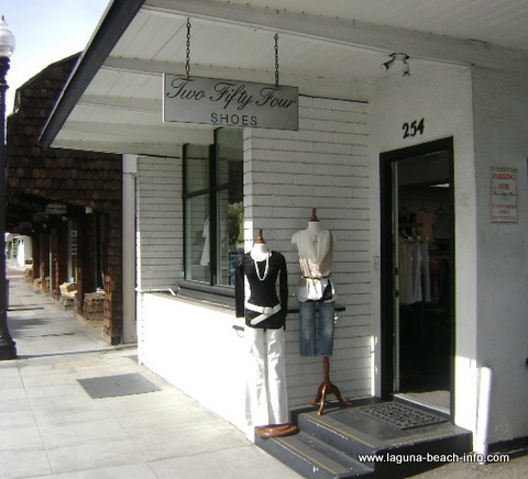 254 Shoes and Womens Clothing Store Boutique, Laguna Beach Shops, California