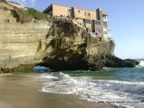 Arch at Table Rock Beach, Laguna Beach, California
