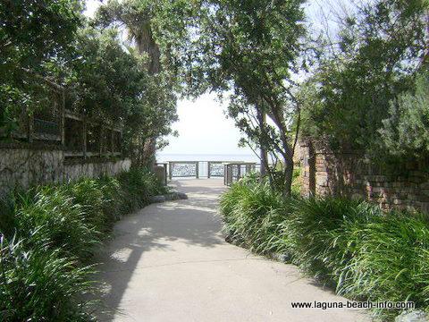 brown's park walkway, laguna beach parks