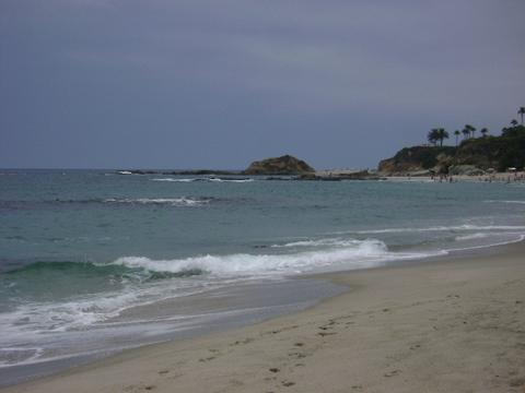 Aliso Beach in Laguna Beach, California