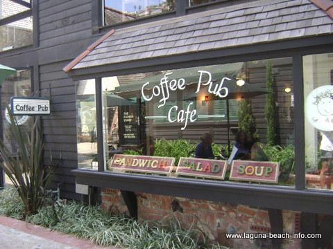 Coffee Pub Laguna Beach Coffee Shop, Laguna Beach, California