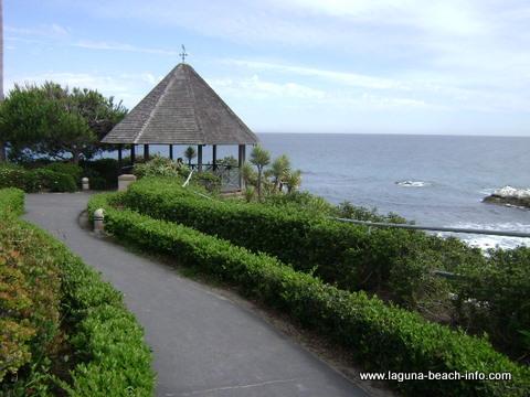 Heisler Park gazebo, Laguna Beach Park