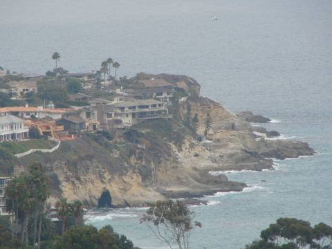 South Laguna Beach Coastline from Toovet Trail