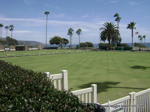 Lawn Bowling Club, Laguna Beach, California