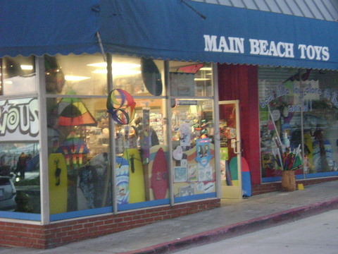 Main Beach Toys Laguna Beach Shops, Laguna Beach, California