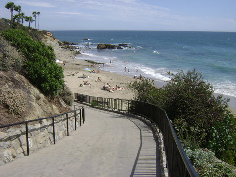 Picnic Beach, Laguna Beach beach - Laguna Beach Information, California Beaches