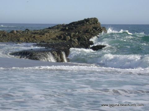rocks at Table Rock Beach, Laguna Beach, California