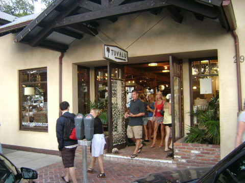 Tuvalu Home Design, Accessories, and Furnishings, Laguna Beach Shops, Laguna Beach, California