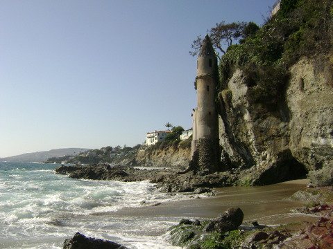 Victoria Beach, Laguna Beach beach - Laguna Beach Information, California Beaches