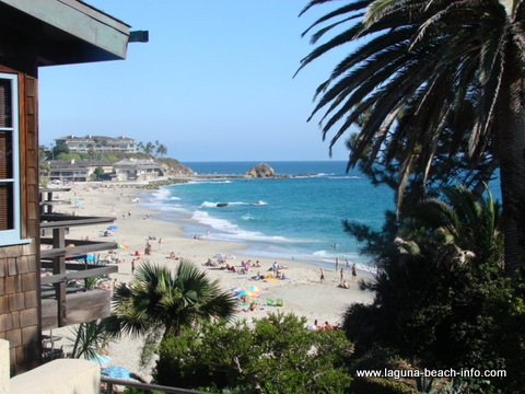 Victoria Beach in Laguna Beach California