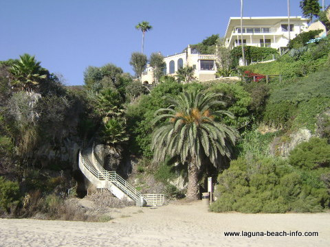 West Street Beach, Laguna Beach, California