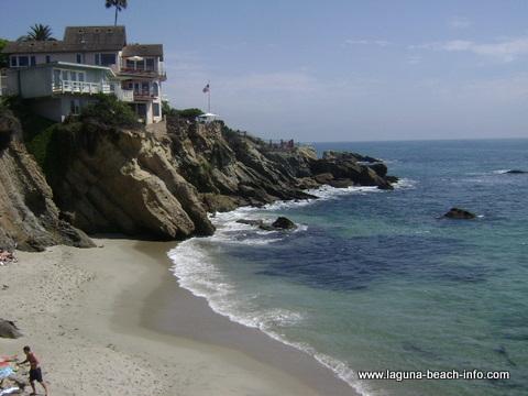 Woods cove, Laguna Beach beach - Laguna Beach Information, California