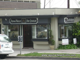 Adam Neeley Art Jewelry Store, Laguna Beach Art Gallery