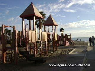 Children's Playground at Aliso Beach Laguna Beach, California