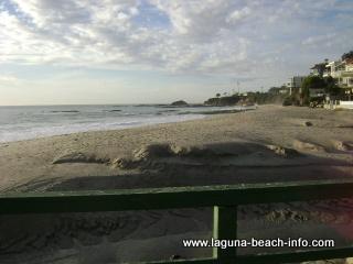 View from Children's Playground at Aliso Beach Laguna Beach, California
