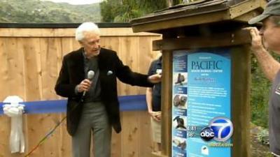Bob Barker at PMMC Laguna Beach (Courtesy of ABC)