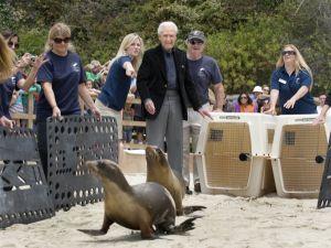 Bob Barker at PMMC Laguna Beach (courtesy of OC Register)