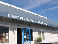 Coast Pet Supply, Laguna Beach Pet Store