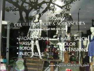 Frou Frou Couture Boutique Beauty Salon, Laguna Beach Spa
