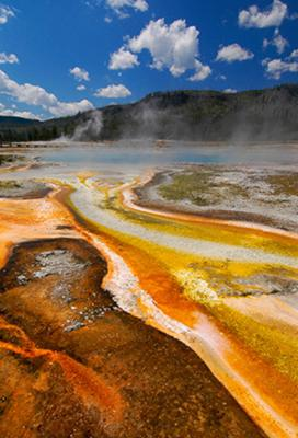 Geyser Color Highway<br>by Gar Cropser