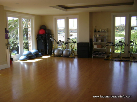 Workout Studio at The Montage Laguna Beach Resort