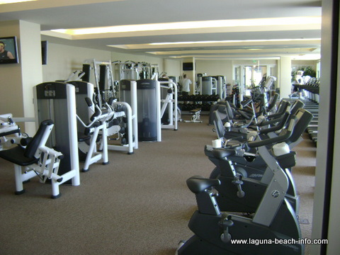 Gym at The Montage Laguna Beach Resort