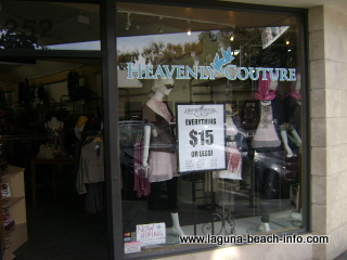 Heavenly Couture, womens clothing boutique store, laguna beach shops