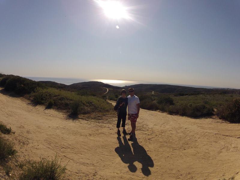 Chris and Sarah, Laguna Coast Wilderness Park, Laguna Beach Hiking Trails
