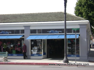 Hobie Surf and Sport Store, Laguna Beach Shops, swimwear, bathings suits, wetsuits, California