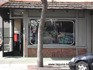 I.C. London Store, womens clothing lingerie fashion boutique, laguna beach shops