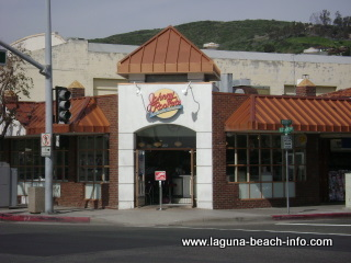 Johnny Rockets Old Fashioned Casual Diner, Laguna Beach Restaurants