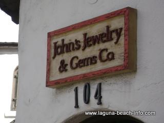 John's Jewelry and Gem Store, Laguna Beach Shops