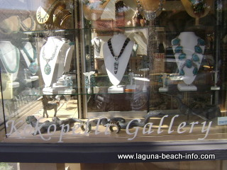 Kokopelli Art Jewelry Gallery, Laguna Beach Art Galleries