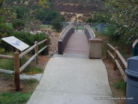 Laguna Beach Dog Park Entrance