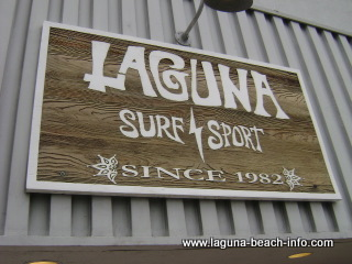 Laguna Surf and Sport, Laguna Beach Shops, California