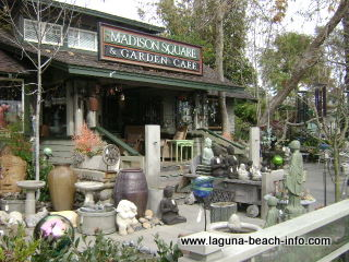 Madison Square Garden and Cafe, Laguna Beach Dog Friendly Restaurant