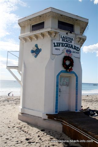 Main Beach Lifeguard Tower, Laguna Beach, California