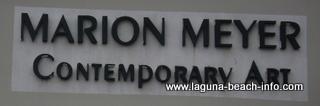 Marion Meyer Gallery, Laguna Beach Art Galleries